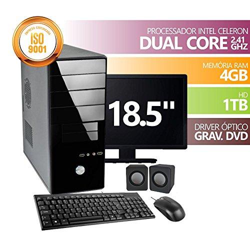 Computador Premium Celeron DC2500 4gb 1tb Dvd Mon18.5 Kit