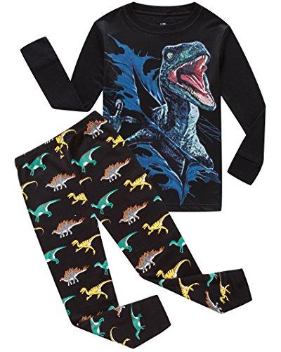 Pajamas Dinosaur Little Toddler Sleepwears