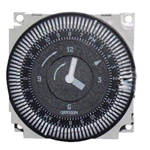 Hot Tub Classic Parts Sundance Spa Time Clock, 24 Hour, 240 Volt (Grasslin), SUN6000-511