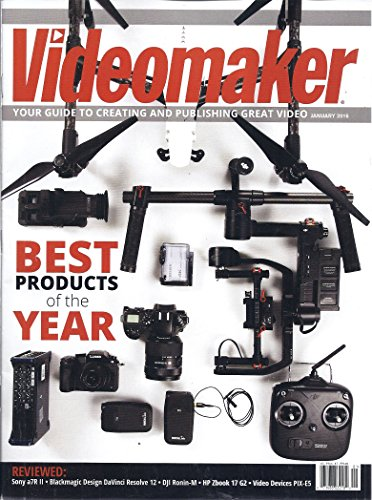 Sony Stand A/v (Videomaker Magazine (January 2016))