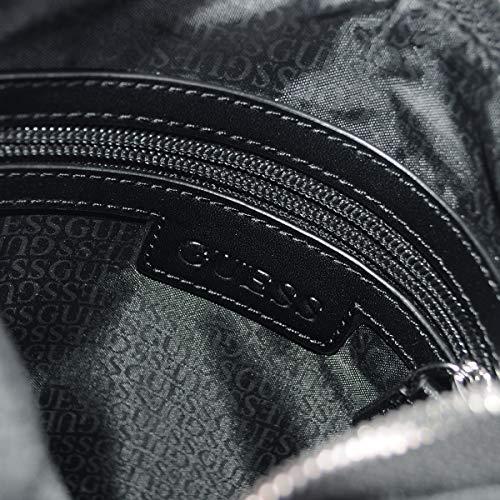 Flat Mini Black City Logo GUESS qg7ZxwFt4