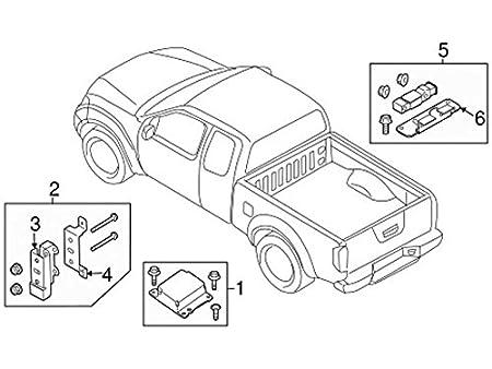 Amazon Com Nissan 98581 9cl9a Ft Impact Sensor Automotive