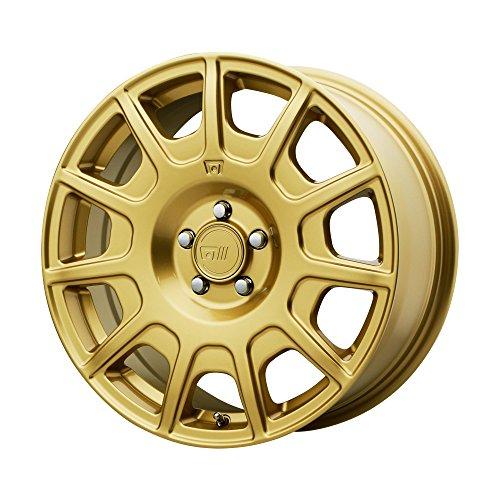 MOTEGI MR139 Rally Gold Wheel Chromium (hexavalent compounds) (16 x 7.5 inches /5 x 72 mm, 40 mm Offset) (Honda Civic Rims Gold)