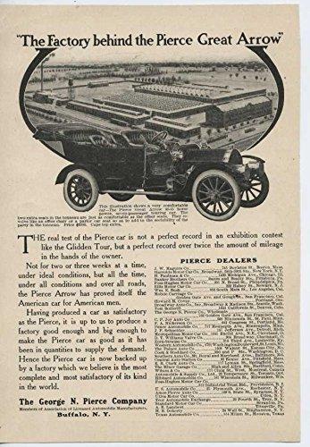 1907 Pierce Arrow Motor Car Buffalo NY Automobile Magazine Ad (Pierce Arrow Buffalo)