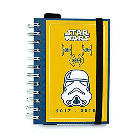 Grupo Erik Editores Agenda Escolar 2017/2018 Star Wars ...
