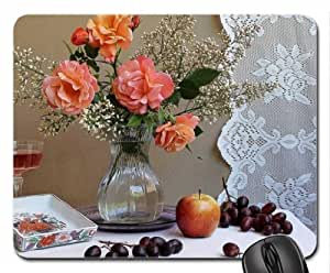 Still Life Mouse Pad, Mousepad (Flowers Mouse Pad)