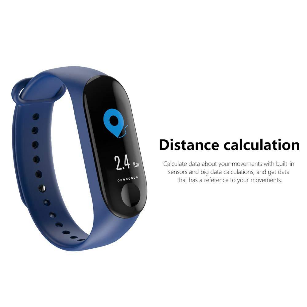 FOONEE Fitness Tracker Resistente al Agua, Activity Tracker Reloj con pulsómetro, Smart Pulsera con Podómetro, Contador de calorías, podómetro Reloj ...