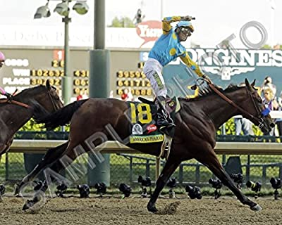 American Pharoah Kentucky Derby Triple Crown Winner 16x20 Photo Poster