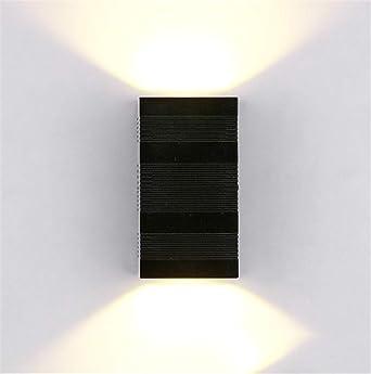 Lámpara de pared 10W exterior pared lámpara casa comercial Villa jardín led pared luz exterior resistente al agua led arriba y abajo de luz tamaño: 8. 5 * 16 * 5 .5cm: Amazon.es: Iluminación