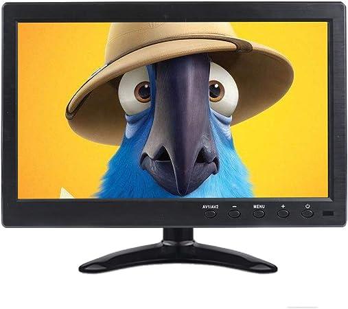 Portátil HDMI Monitor Prechen 10.1 Pulgadas 1366 x 768 HD LED Display CCTV Monitor con HDMI VGA BNC AV Puerto Control Remoto para automóvil PC TV cámara Ventana 7 8 10, ECC.: Amazon.es: Electrónica