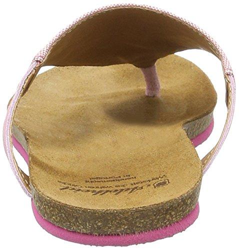 Adelheid Damen Herzallerliebst Sommersandale Sandalen Pink (Altrosa)