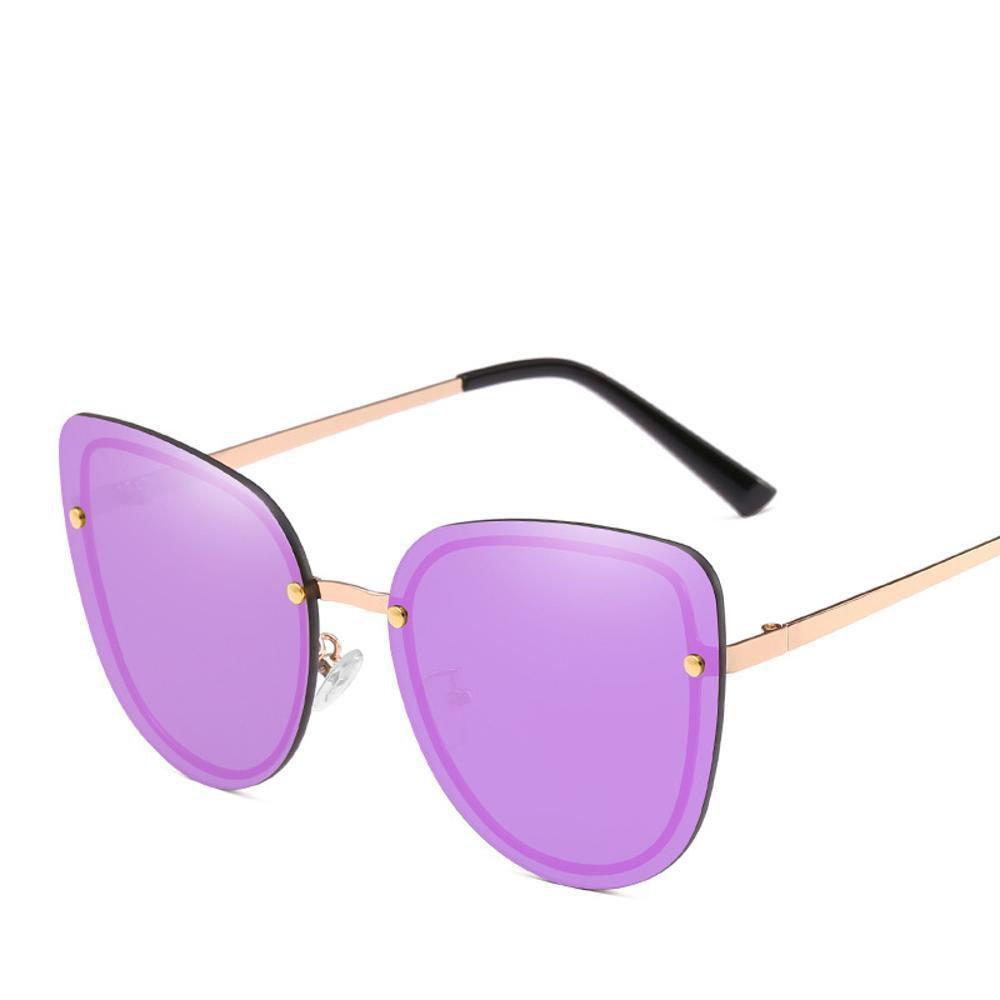 Aoligei Katzenauge s keine Rahmen Sonnenbrillen Flut Dame ...
