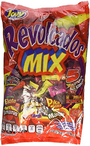 Jovy Revolcados with Chili Mix 5lb Bag of Assorted Flavored Candy's