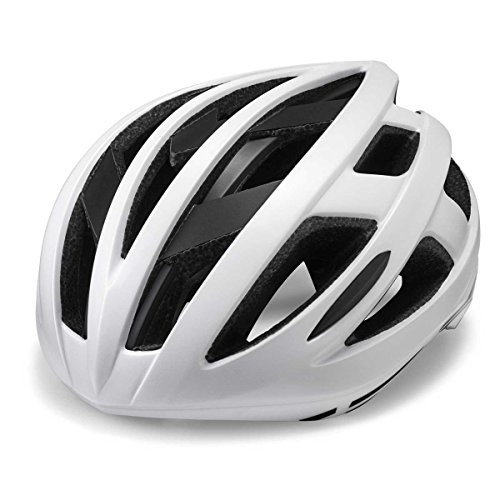 Cannondale 2017 CAAD MIPS Equipped Road Bicycle Helmet (White with Black - Large/Extra large) (Bicycle Road Cannondale)