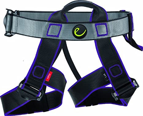 EDELRID Joker Junior - Arnés de escalada (infantil), color negro ...
