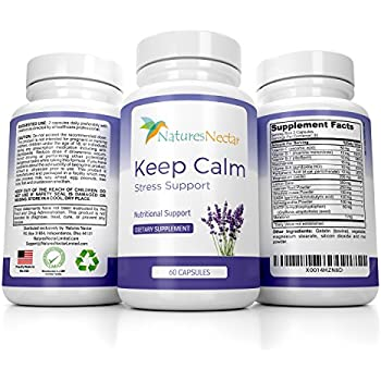 Amazon Com Quiet Mind Capsules 30 Ct 500 Mg Health Personal Care
