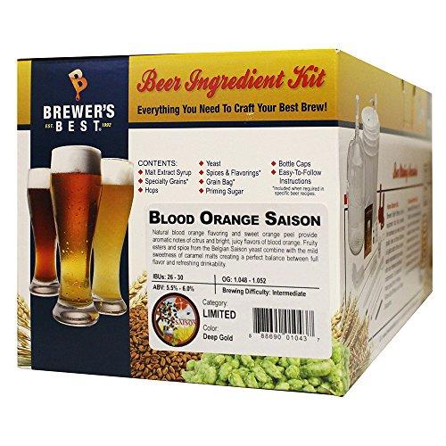 - Brewer's Best Home Brew Beer Ingredient Kit - 5 Gallon (Blood Orange Saison)