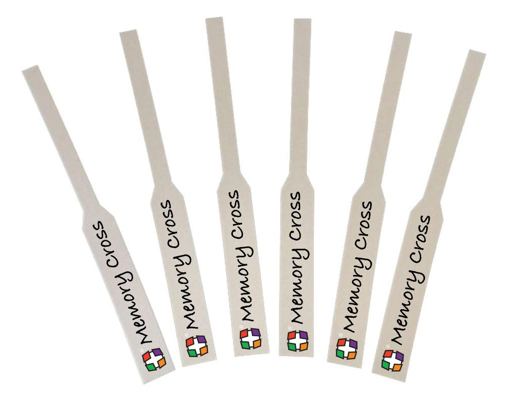 Memory Cross Perfume Test Strips Printed with Company Name and Logo Printed in Full Color - Premium Fragrance Test Strips for Essential Oil and Scents (1000)