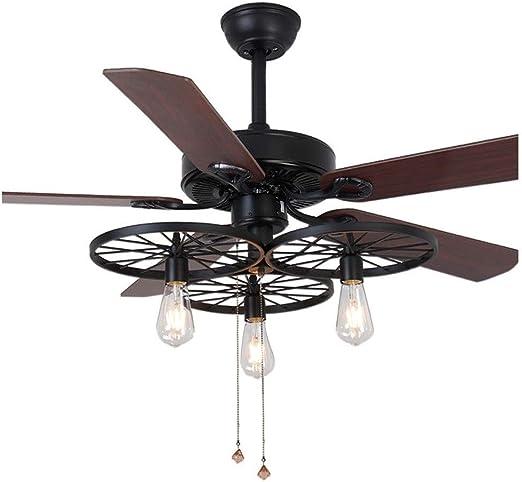 Ventiladores para el Techo con Lámpara Luces de ventilador Luz de ...