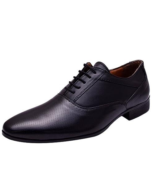 Men Black Oxford Office Formal Shoes