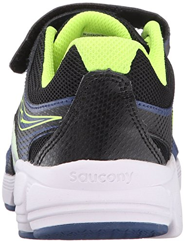 Saucony Kotaro 3 Alternative Closure Sneaker (Little Kid/Big Kid), Blue/Black/Citron, 12 W US Little Kid Photo #8
