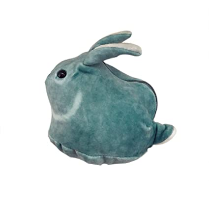 Scrox 1x Monedero Mini Kawaii Cartera Mujer Muñeca de Conejo Pequeño Billetera Cremallera Lindo Bolso de