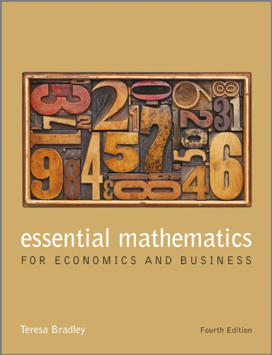 Pdf Science Essential Mathematics for Economics and Business