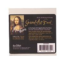 Speedball Mona Lisa 4-Inch-by-4-Inch Gessoed Art Board