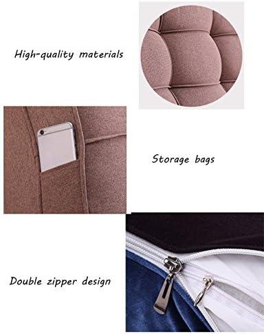 JXXDDQ Coffre Souple de tête de lit Douillet de Cas de Grands Lits Doubles de ménage arrière de ménage Lavable, Taille 9 (Size : 170 * 10 * 58cm)