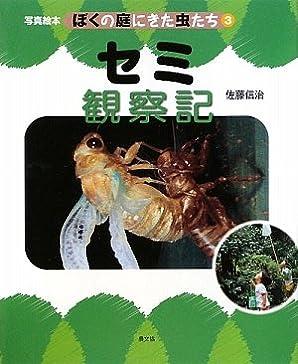 セミ観察記 (写真絵本 ぼくの庭にきた虫たち)