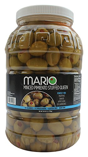 Mario Camacho Foods Pitted Green Ripe Olives, 6 Ounce (Pack of 12)