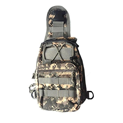 JD Million shop Casual Men Zip Chest Packs Trekking Bag Jungle Travel Camouflage Military Nylon