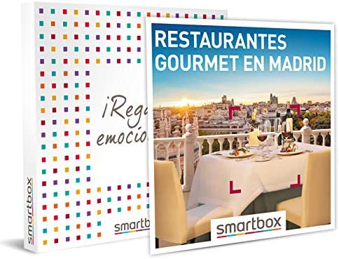 restaurantes gourmet en madrid smartbox
