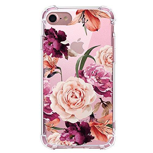 大白菜!Casesay TPU iPhone 7 花朵图案手机壳