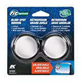 Automotive : Fit System C0400 Driver/Passenger Side Stick-On Adjustable Blind Spot Mirrors – Pack of 2