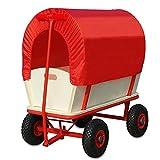 Bollerwagen Transportwagen Handwagen Wagen Transport Schutzdach Plane
