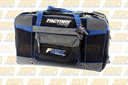 Factory FMX Motorcross Gear Bag XLarge Blue by Factory Racing (Image #1)
