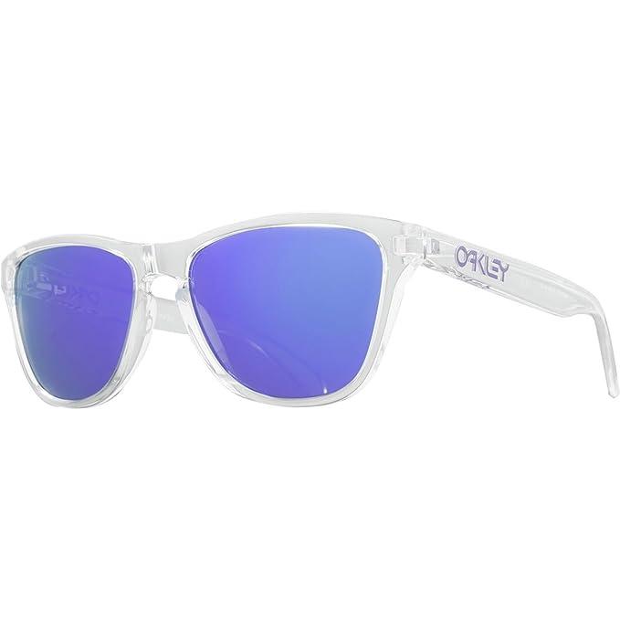 Oakley Frogskins, Gafas de Sol para Hombre, Transparente, 53