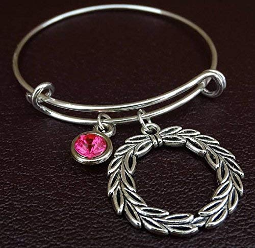 Amazon.com: Laurel Wreath Bracelet, Laurel Wreath Charm ...