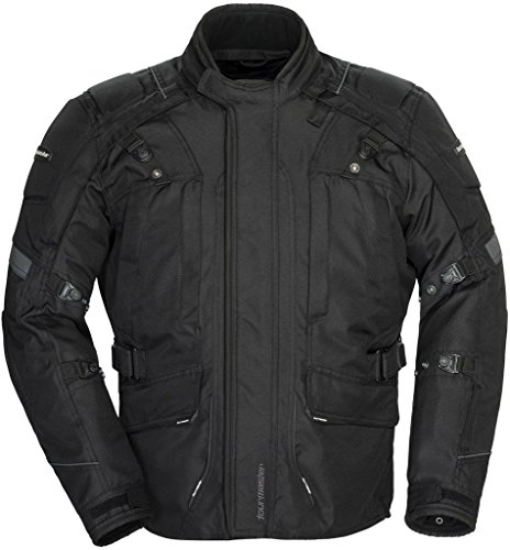 TOURMASTER TRANSITION 4 MOTORCYCLE JACKET BLK/BLK SIZE:3XL(Tall)