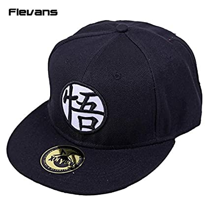 1 lote de mayoreo- Dragon Ball Z Goku Cool Caps Snapback Hat Carta adulto  Gorra 9ce0330addf