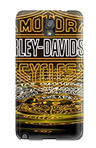 New Tpu Hard Case Premium Galaxy Note 3 Skin Case Cover(motorcycle)