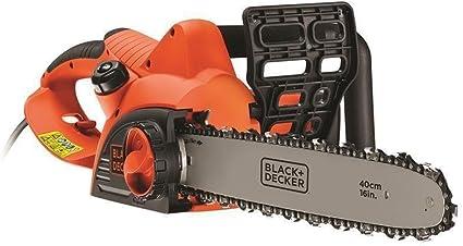 BLACK+DECKER CS2040-QS - Motosierra eléctrica 2000W, espada 40 cm, velocidad 12.5 m/s: Amazon.es: Bricolaje y herramientas