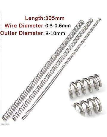 Ressort de traction acier Long 30mm Diam 6,7mm