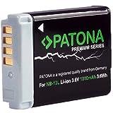 Patona Premium Li-Ion Akku für Canon NB-13L (echte 1010mAh) neueste Generation - Canon PowerShot SX620 SX720 SX730 G5 X G7 X und G7 X Mark II G9 X