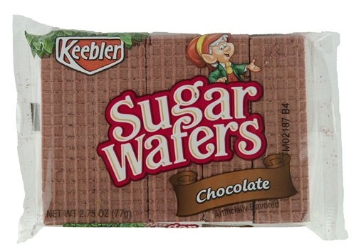 - Keebler Sugar Wafers Chocolate 2.75-Ounce Packages (Pack of 12)