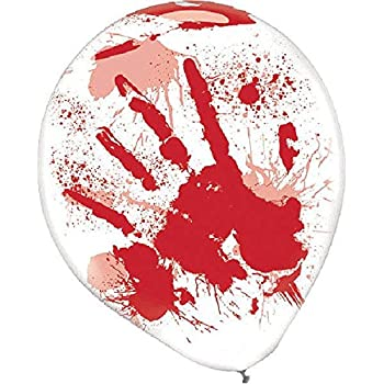 Blood Splatter Balloons | Halloween Decor