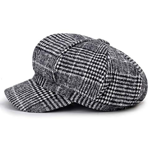 Blmusi Newsboy Beret Hat for Women Cabbie Hats Fall Visor Cap Paperboy Painter Hat