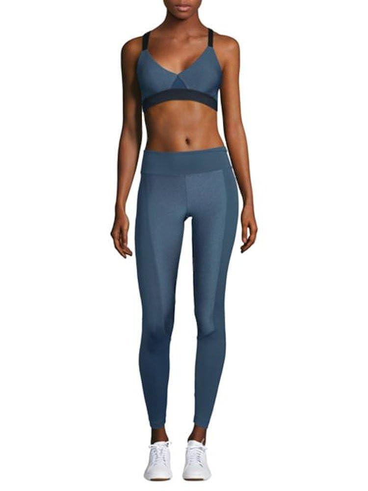 200cd39852cd5 Amazon.com: Koral Marina Mid Rise Leggings (MD): Clothing