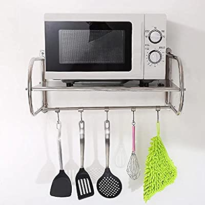MAIKA HOME - Rejilla de cocina de acero inoxidable/para colgar en ...